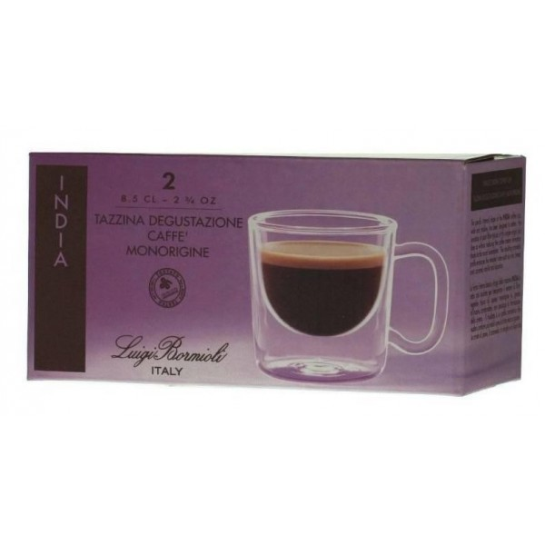 Luigi Bormioli Thermic Glass COLOMBIA espresso csésze 10 cl, 2 db